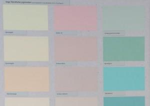 Es gibt auch vegane Kaseinfarben wie die Vega Wandfarbe